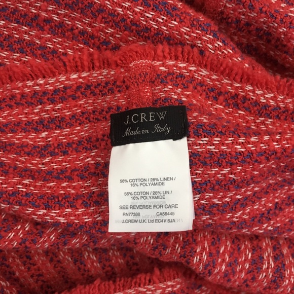 J.Crew Black Label   Infinity Scarf Made In Italy